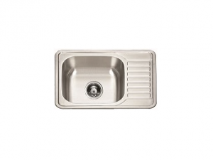 Кухненска мивка алпака с ляв плот 65DA 6550L