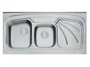 Кухненска мивка алпака 65LA 12060