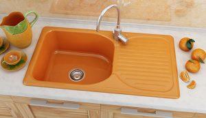 Кухненска мивка 211 с десен-ляв плот