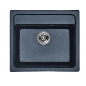 Мивка за кухня гранит-черна 8304