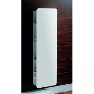 колона за баня PVC стенна огледална 45х17х160