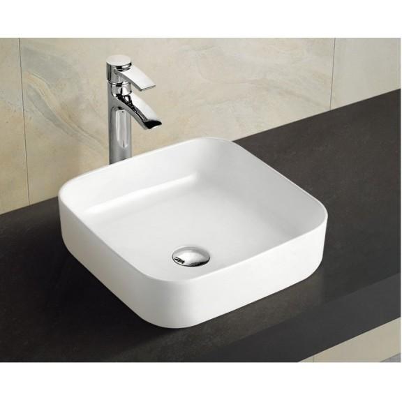 мивка бяла върху плот тънкостенна 869