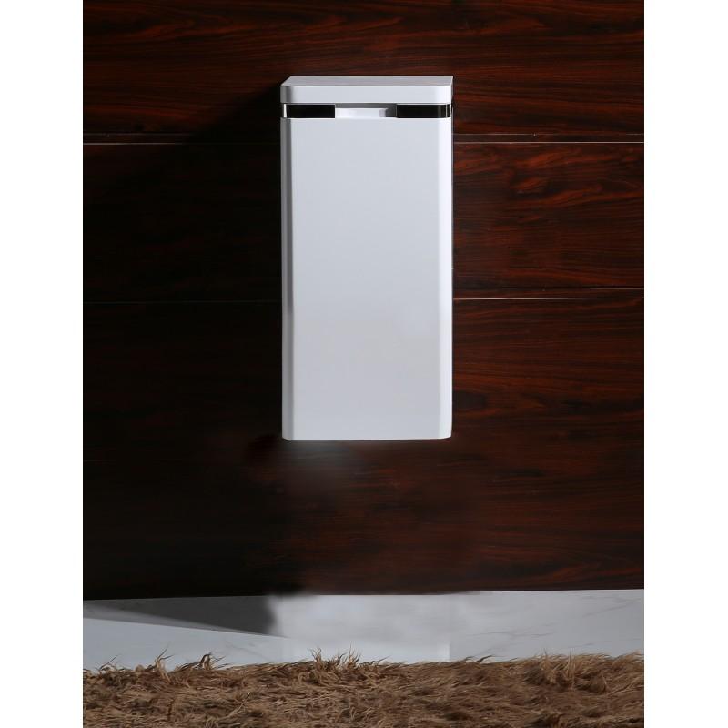 стенна колона за баня PVC бяла /30х30х60/