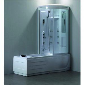 хидромасажна вана с хидромасажна кабина дясна 8020R